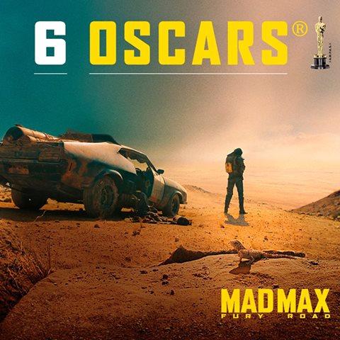 MAD MAX Oscar du meilleur mixage son en DPA