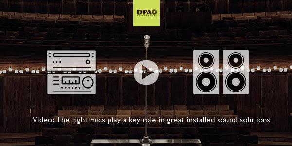 DPA Microphones Installation